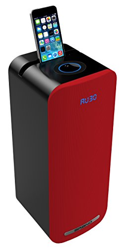 Sogo ALT-SS-8705-R - Altavoz Mini Torre con Bluetooth Multimedia, Color Rojo