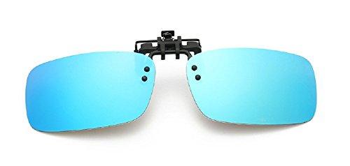 Embryform Polarisierte Clip-on Flip up Plastik Sonnenbrillen Linsen Gläser Outdoor Fahren Angeln Radfahren