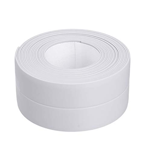 Fodlon Cinta Impermeable para Baño 3.2m*3.8cm Cinta Adhesiva para Fugas de Agua...