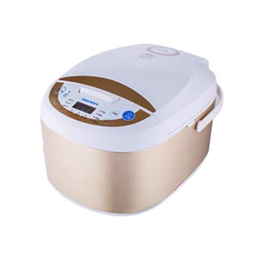 Smart Small Multi-fonction One-Touch Operation Cuiseur à Riz Électrique 5L Ragoût Vapeur Soupe Porridge Cake Yaourt Faire (Couleur : B)