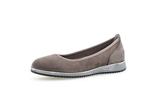 Gabor Mujer Bailarinas, señora Bailarinas clásicas,Zapatos Planos,Calzado de Verano,Slip-on,Calzado Casual,Calzado Deportivo,Wallaby,43 EU / 9 UK
