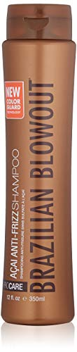 BRAZILIAN BLOWOUT Acai Anti Frizz Shampoo, 12 Fl oz