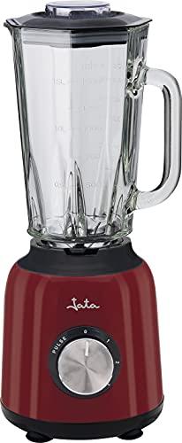 Jata BT795 - Batidora de vaso de 1,5 litros con 6 cuchillas dentadas. 1.200 W. 3 velocidades + pulse. Apta para picar hielo. Fácil limpieza