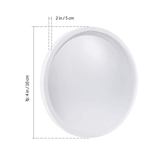 UEETEK Konkave Linse,300mm Brennweite,10cm Durchmesser Labore Doppelt Konkav Optische Linse Glaslinse