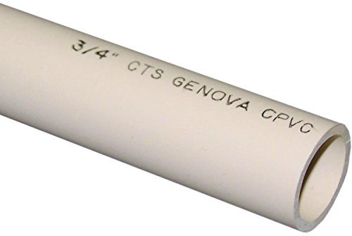 GENOVA PRODUCTS 500072 Solid Cut Pipe, 3/4'