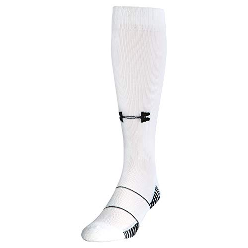 Under Armour Over-The-Calf équipe Chaussettes – Blanc, Grand