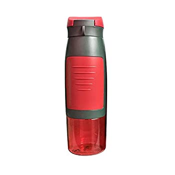 Unisex Outdoor Sports Water Bottle with Wallet Key Card and Money Holder for Storage  Red