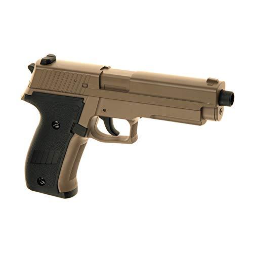 Cyma Softair - Pistole P226 Airsoft cm.122 AEP TAN  0,5 J. - inkl. Akku & Ladegerät