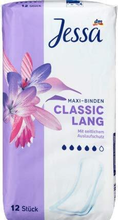 Jessa Maxi-Binden Classic Lang, 12 Binden