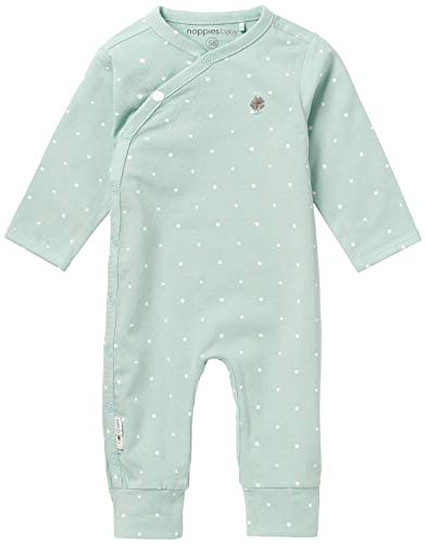 Noppies Baby-Unisex U Playsuit Jrsy Lou AOP Body, Grau (Grey Mint C175), 74