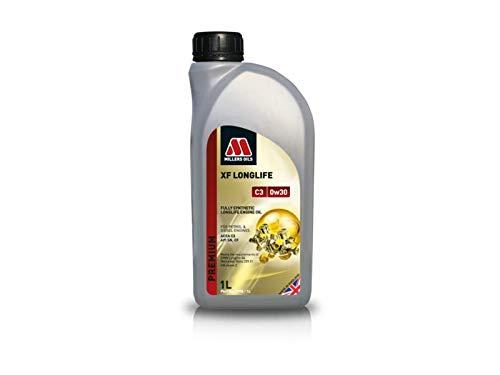 Millers Oil XF Longlife 0W30 C3 SN Huile moteur entièrement synthétique LL04 dexos 2 1 litre