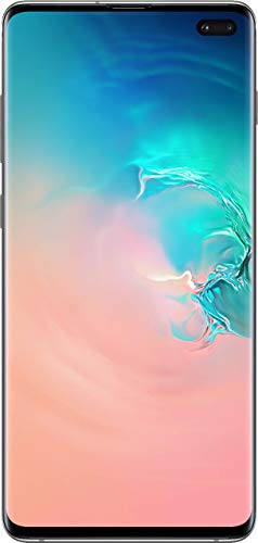 Samsung Galaxy Cellphone S10+ Plus AT&T T-Mobile GSM Unlock (White, 128GB) (Renewed)