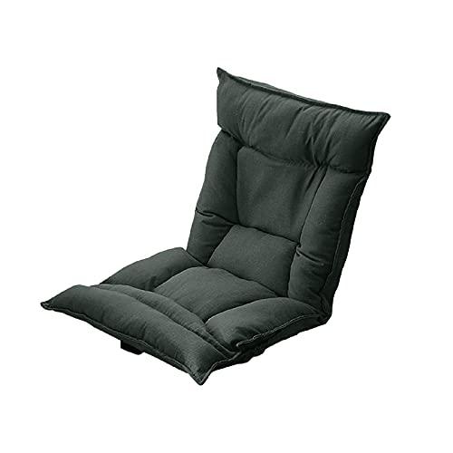 PPGE Home Meditation Chair, Meditation Cushion with Back Support, Silla De Suelo con Respaldo Ajustable, Silla De Suelo Japonesa Gaming, Silla De Piso Meditacion con Respaldo para Leer