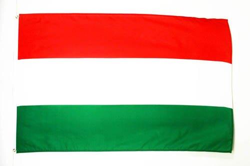 AZ FLAG Flagge UNGARN 90x60cm - UNGARISCHE Fahne 60 x 90 cm - flaggen Top Qualität