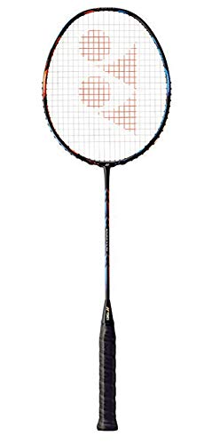 YONEX Duora 10 Badminton Racket (Unstrung/Strung) (Blue/Orange, Strung with NG 99 @ 24lb)