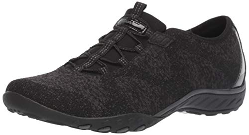 Skechers Damen Breathe-Easy-Opportuknity Turnschuh, schwarz, 41 EU