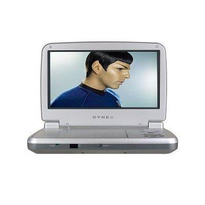 """9"""" Dynex DX-PDVD9A Widescreen Portable DVD Player (Silver)"""