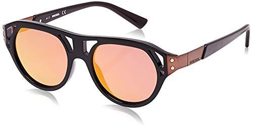 Diesel Sunglasses DL0233 j51 01X Gafas de sol, Negro (Schwarz), 51 para Hombre