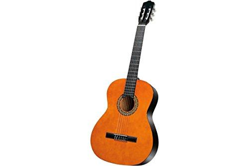 Sheffield Konzertgitarre Anfänger Gitarre Videokurs Notenbuch Tuner Braun