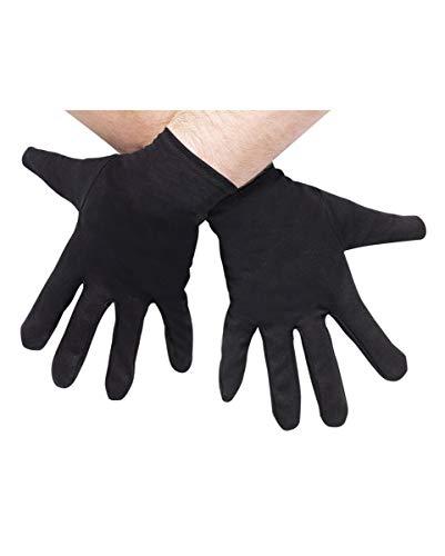 Gants de costume noir Taille Plus