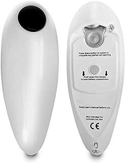 Elektrische blikopeners met blikopeners Draagbaar One Touch Automatisch + Gratis Flessenkruik Grip Mate Batterijbediend Ha...
