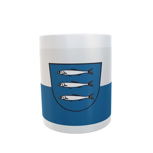 U24 Tasse Kaffeebecher Mug Cup Flagge Heringsdorf (Usedom)
