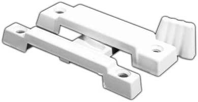 CRL F2533 White Window Sash Atlanta Mall Inexpensive Lock Screw Holes - 2-1 4
