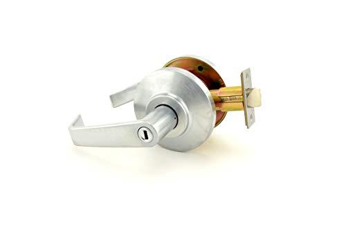 Stanley Best 7KC 30 L 15D S3 626 - Cerradura de ángulo de retorno sin llave, color cromo satinado, 2 cm