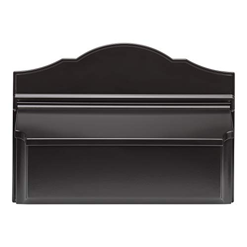 Whitehall 16600 Colonial Wall Mailbox, Black