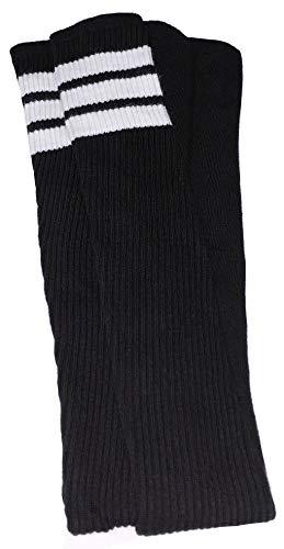 skatersocks 35 Inch Tube Socken Kniestrümpfe oldschool Sportsocken overknee schwarz