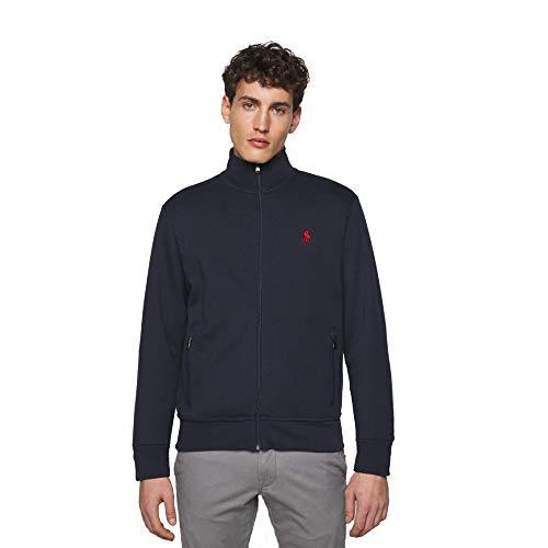 Polo Ralph Lauren Sudadera con Cremallera Custom Slim Fit (XL, French Navy)