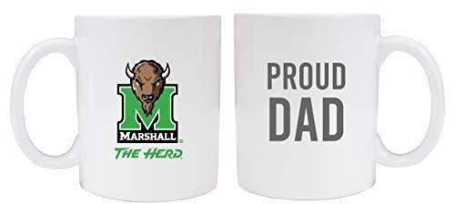 Marshall Thundering HerdProud Dad White Ceramic Coffee Mug