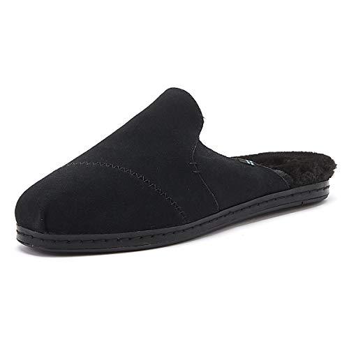 TOMS Women Nova Leather Wrap Black, Zapatillas para Mujer