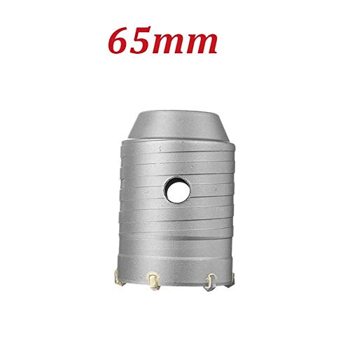 No-branded Hole Drill Bit 350MM Round Rod Concrete Drill Hole Saw Cutter Air Conditioner Wall Puncher LYFTLKJ (Size : 65mm)