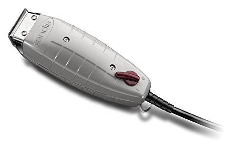Andis 04603 Professional Outliner II Square Blade Trimmer, Gray