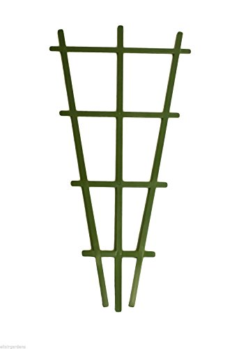 Elixir Gardens Plant Pot Trellis/Support Plastic Climbing Plant Trainer (3 x Plastic Plant Trellis)