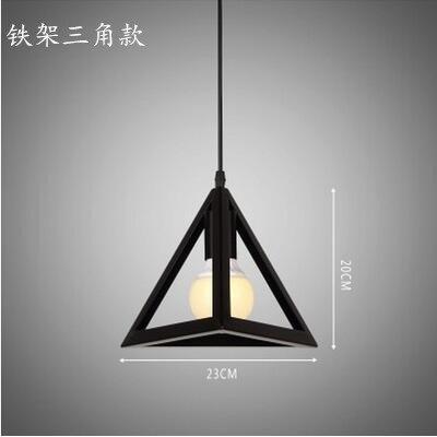 Luckyfree Creatieve Modern Fashion hanger lampen plafondlamp kroonluchter slaapkamer woonkamer keuken, strijkijzer houder 1.30