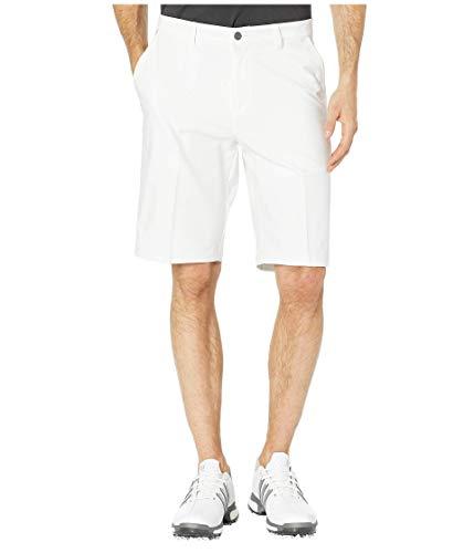 adidas - Pantaloncini da Golf Ultimate 365, Colore: Bianco, Uomo, Ultimate 365 Twill Bianco Corto, TM6240S8, Bianco/Grigio One F, 38
