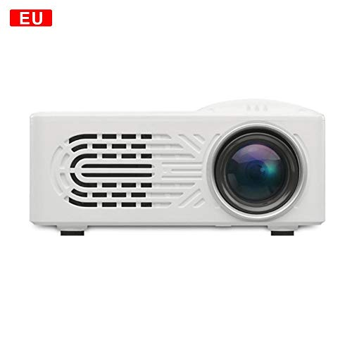 Niumen Mini-LED-Projektor Tragbarer HD 1080P Multimedia-Heimkino-Videoprojektor Theater Kind