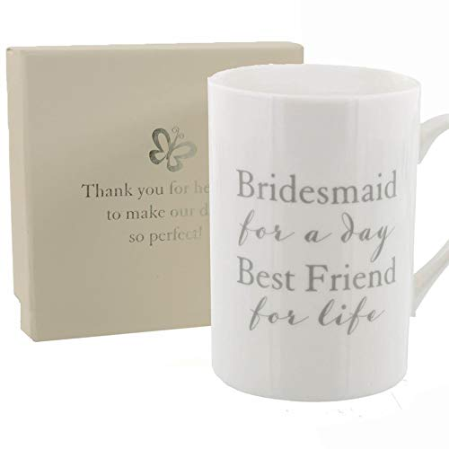 Amore Bridesmaid Thank You Mug With Sentiment Presentation Box  sc 1 st  Amazon UK & Bridesmaid Gifts: Amazon.co.uk