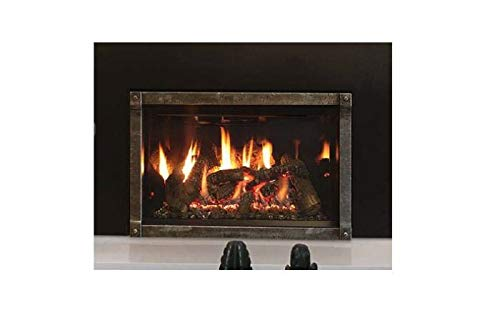 Why Choose Empire Comfort Systems Rushmore 30 DV NG Insert w/Driftwood Logs, BL Liner & Surround