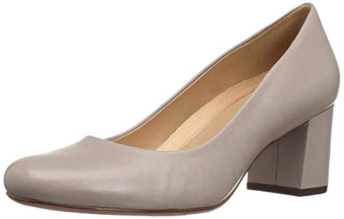Naturalizer Womens Whitney Leather Closed Toe Classic Pumps, Tan, Size 8.5