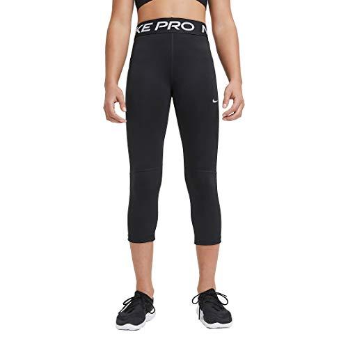 NIKE DA1026-010 G NP CPRI Leggings Girls Black/(White) XL