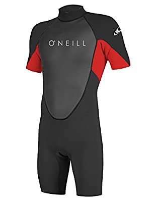 O'Neill Reactor 2 Kids Shorty Wetsuit 6 Black/red/Black (5045IS)