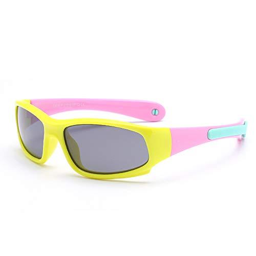 Heerda Gafas de Ciclismo para niños - V400 Gafas de Sol polarizadas...