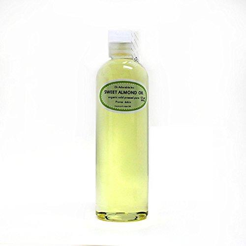 Sweet Almond Oil 100% Organic Skin Care 12 Oz