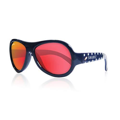 Shadez Sonnenbrille für Kinder, Uva und Uvb, Größe Junior – Blau mit Razzo – 30 g