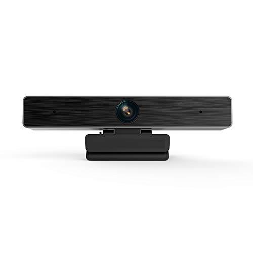 ASG Webcam Ultra HD con Microfono Videocamera HD 1080P / Grandangolo 120 Gradi/Senza unità/per videoconferenza/Webcast/Applicazioni educative/Telemedicina