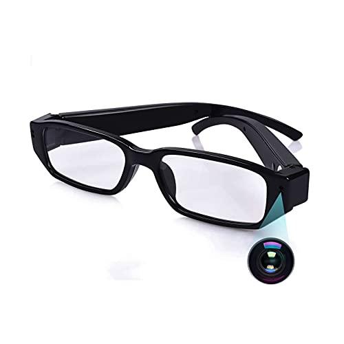 Cámara Espía Oculta, KAMREA HD 1080P Gafas de Cámara, Portátil Cámara de Grabación de Vídeo de Gafas para Reuniones, Viajes, Deportes