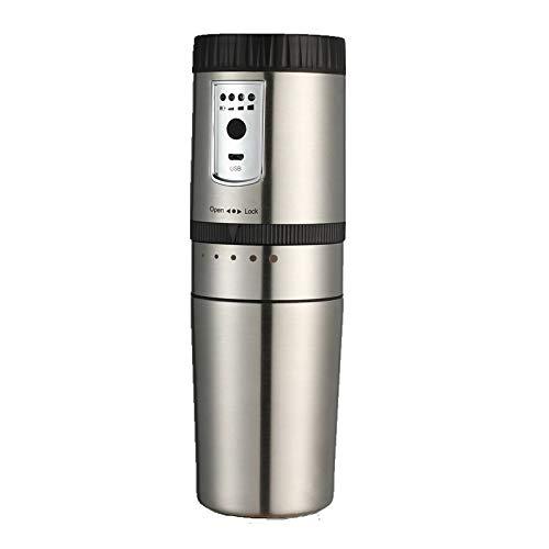 Zcm Cafetera Portable eléctrico de la máquina de café de Acero Inoxidable...